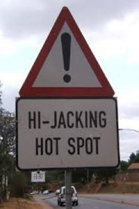 Car hijacking on the rise