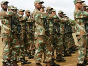 South African Defence Force deployed to forcefully remove residence– somewhere someone abused their powers