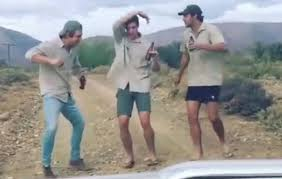 Boys turned Karoo road trip into dance-off Internet sensation