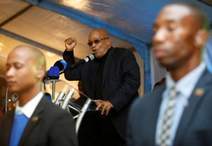 Zuma states that poverty in South Africa began when land was taken away