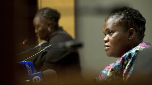 Outa lays charges of high treason and corruption against Public Service Minister Faith Muthambi