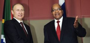 Russian group meets with Zuma days before reshuffle - Putin shows Zuma who's boss