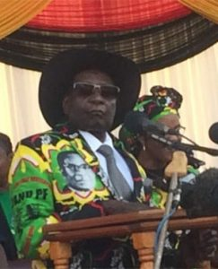Mugabe to whites: 'What's not yours will never be yours