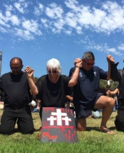 Five #BlackMonday activists who took part in the protest against farm murders have appeared in courts