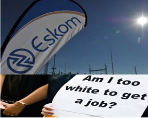 Eskom and SA are paying an expensive price for to ANC's Affirmative Action Policy - white experienced and knowledgeable engineers are missing from the state entity and now experts have to come from abroad to save Eskom