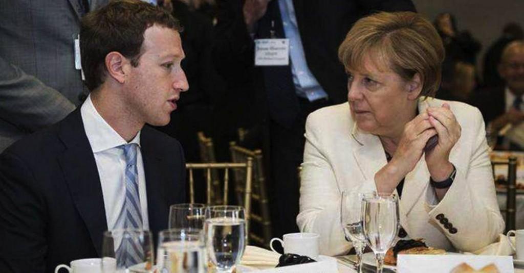 zuckerberg merkel