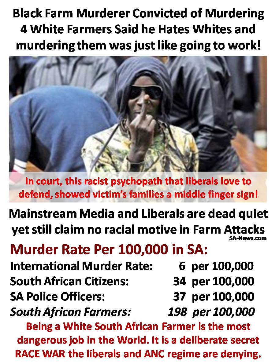 Almost 500 000 South Africans were murdered between 1994 and 2016 - More people are killed in South Africa compared to most war torn countries