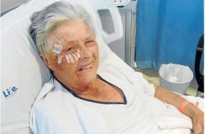 Attachers smashed pensioner's face with large rock during robbery
