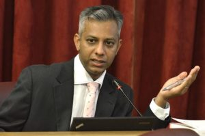 Gupta-linked finance chief of Eskom Anoj Singh- suspended