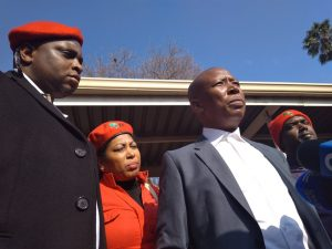 If I'm guilty, Freedom Charter is illegal: Malema on land issue