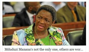 Minister Bathabile Dlamini Talk before you Dr….UHM, Th-ink, again?