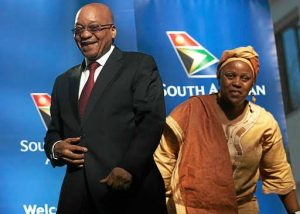 Broke Jacob Zuma Foundation dumps university students