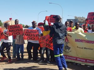 We are stuck with Zuma: Thousands march against state capture, corruption