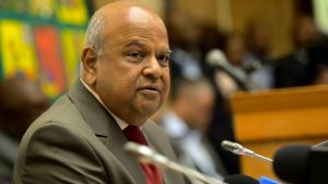 Pravan Gordhan's conference ruined by 'Poo throwing' incident