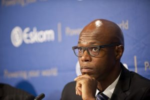 Former acting CEO of Eskom's back at his desk on Monday after 'sham hearing'