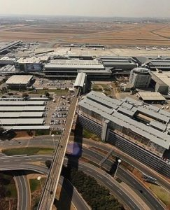 Explosion erupts at Johannesburg International Airport
