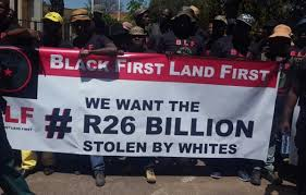 BLF welcomes the fire on Johann Rupert's family farm