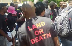 """BFLF, """"We are going to wage a war for the land"""""""