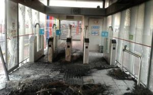 2 Bus stations vandalized in Cape Town