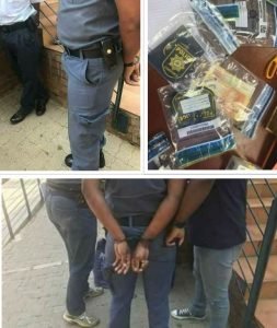 Krugersdrop Cops busted for bribery