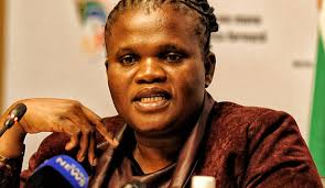 Public Service Minister Faith Muthambi