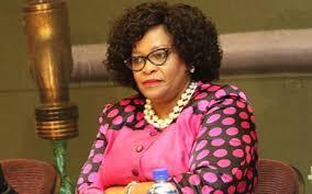 Water Affairs Minister Nomvula Mokonyane
