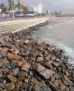 Durban is slowly becoming a seaside city without any sand