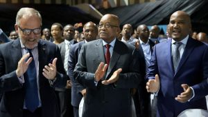 Do not fear when the funeral undertaker is here - Undertakers raise money to pay Zuma's legal fees