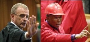 "Feud: ""Bring it on bloody racists"" - Malema tells Nel"