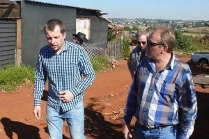 Belgians visit SA to find out about white poverty, farm attacks
