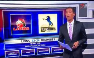 Ashwin Willemse Walkout – no racism involved