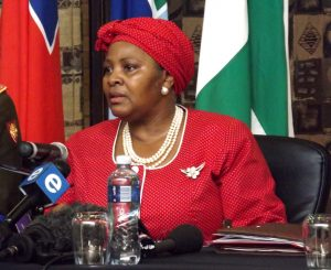 Minister Mapisa-Nqakula reveals that SANDF rifle linked to cash-in-transit heist
