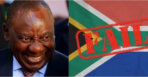 ANC failures, Rand falls to a 6.5 month low