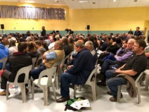 First hearing on land expropriation full of tension, threats of violence