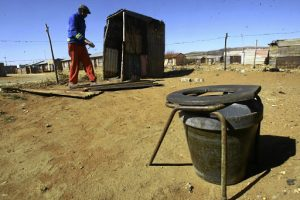 Bucket toilets still reality for thousands - And the ANC-regime probably blame this on apartheid as well?