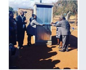 ANC unveils  new outdoor toilet in Limpopo