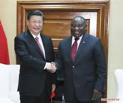 xi ping ramaphosa secret deal