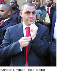 Adriaan Snyman is the man who handed Malema the gun