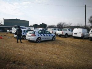 Traffic police will now have to do foot patrols in Emfuleni district after Bidvest seized municipal vehicles