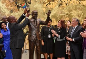 South African taxpayer has yet again foot the bill for a new statue for terrorist Nelson Mandela which was recently unveiled in the USA