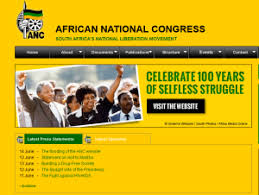ANC's formal website is shut down for the ruling party has not been paying for their services and owns R32.5-million in debt