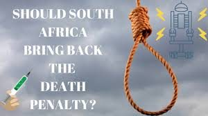 South Africans call for return of the death penalty following the release of this year's crime stats, but will this really rid SA of its out of control crime rate?