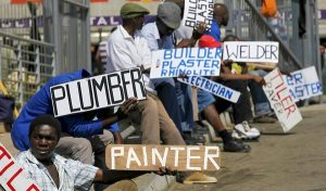 South Africa's unemployment crisis: 69 000 jobs lost in four months