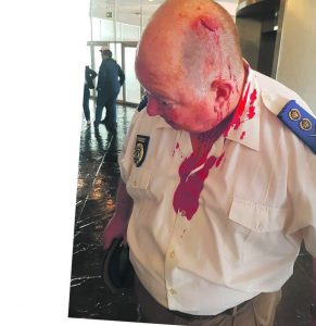 No wonder they are called animals - EFF viscously attack top metro cop