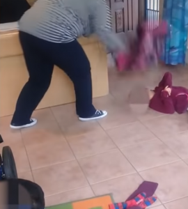 Watch: Fourways caregiver beats up disabled child at crèche