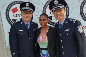 SA is infested with Chinese and they are definitely taking over - 13th Chinese community and Police cooperation centre opened in PE