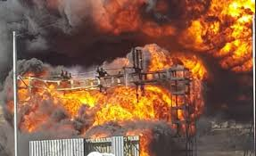 Black residents benefiting from illegal power connections burns down substation - Paying residents are now paying the price for lawlessness in the country