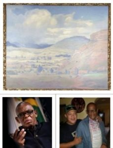 Ace Magashule 'gives away' Pierneef painting worth more than R6m