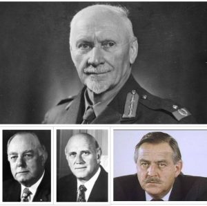 FOUR of the most notorious liberal traitors to the Afrikaner nation- Smuts, Voster , De Klerk and Botha