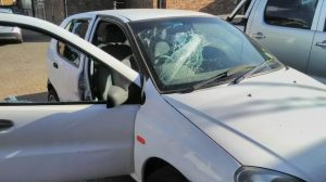 Case of mistaken identity - NUMSA strikers armed with petrol bombs; rocks; sticks and iron bars destroy 10 cars in attack on wrong company